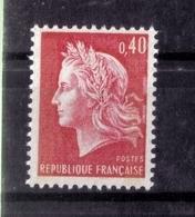 N° 1536Ba (deux Bandes De Phosphore)NEUF** - 1967-70 Marianne De Cheffer