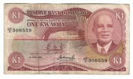 Malawi 1 Kwacha 1984 .J. - Malawi
