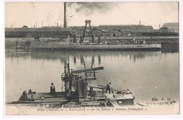 Petit Creusot , Le '' MANGINI '' '' Sur La Saône '' Marine Française '' . - Autres