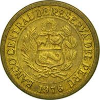 Monnaie, Pérou, 1/2 Sol, 1976, TTB, Laiton, KM:265 - Pérou
