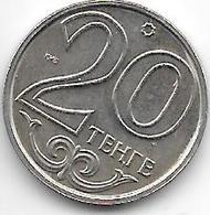 *kazakhstan 20 Tenge 1997  Km 26 Bu - Kazakhstan