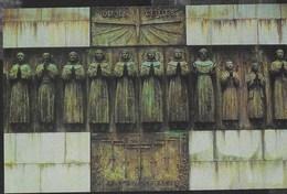 GIAPPONE - STATUE DEI 26 MARTIRI CRISTIANI A NAGASAKI - FORMATO PICCOLO -NUOVA - Monumenti