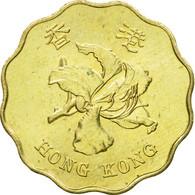 Monnaie, Hong Kong, Elizabeth II, 20 Cents, 1998, TTB, Nickel-brass, KM:67 - Hong Kong