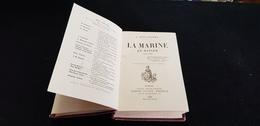 Livre LA MARINE EN DANGER 1889 NATIONALE ALLEMANDE ANGLAISE ITALIENNE Ministère Aube Bateaux FURIEUX NIELLY VOLTIGEUR - Boten