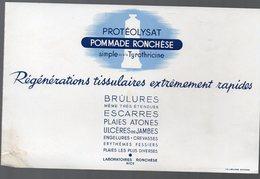 Nice (06 Alpes Maritimes) Buvard POMMADE RONCHESE (PPP9192) - Chemist's