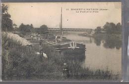 NOGENT - L'ARTAUD . Le Port Et Le Pont . - France