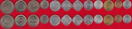 Pakistan Set Of 12 Coins: 1 Pie - 5 Rupees 1956-2003 UNC - Pakistan