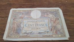LOT 414613 BILLET DE FRANCE  100 FRANCS 1934 - 1871-1952 Circulated During XXth