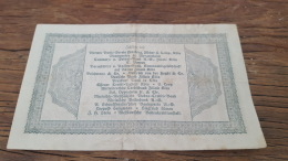 LOT 414616 BILLET D ALLEMAGNE     DE  1923 - Allemagne