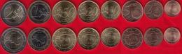 Estonia Euro Full Set (8 Coins): 1 Cent - 2 Euro 2018 UNC - Estonia