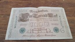 LOT 414618 BILLET D ALLEMAGNE  1000 BERLIN  1910 - Germany