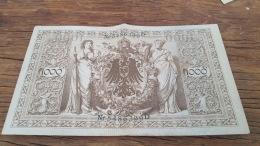LOT 414619 BILLET D ALLEMAGNE  1000 BERLIN  1910 - Allemagne