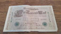 LOT 414620 BILLET D ALLEMAGNE  1000 BERLIN  1910 - Allemagne