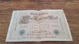 LOT 414621 BILLET D ALLEMAGNE  1000 BERLIN  1910 - Germany