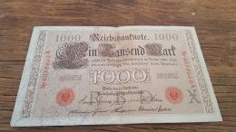 LOT 414622 BILLET D ALLEMAGNE  1000 BERLIN  1910 - Allemagne