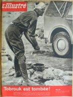 L'ILLUSTRE No 26 Du  25.06.1942 - Testi Generali