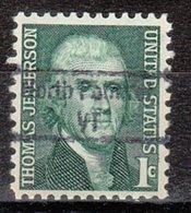 USA Precancel Vorausentwertung Preo, Locals Vermont, North Pomfret 843 - Vereinigte Staaten