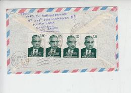 SRA-LANKA  1981 -  Yvert 533 - Lettera Per Italia - Sri Lanka (Ceylon) (1948-...)