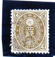 B - 1888 Giappone - New Koban - Japan