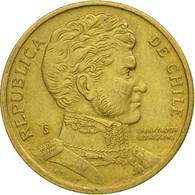 Monnaie, Chile, 10 Pesos, 1999, Santiago, TTB, Aluminum-Bronze, KM:228.2 - Chile