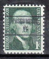 USA Precancel Vorausentwertung Preo, Locals Vermont, Passumpsic 853 - Vereinigte Staaten
