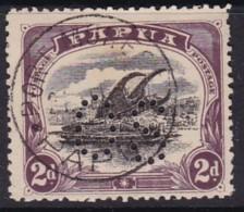 Papua 1908 Official Sg O23 P 12.5 - Papua New Guinea