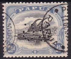 Papua 1908 Official Sg O17 Used - Papua New Guinea