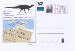 Rep. Ceca / Cart. Postali (Pre2014/07) 125 ° Anniversario Della Descrizione Di Callovosaurus Richard Lydekker (1849-1915 - Altri