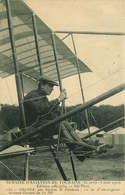 AVION Semaine D'aviation De Touraine  CHAVEZ Sur Biplan H.FARMAN - Aviatori