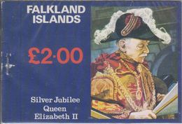 Falkland Islands 1977 Silver Jubilee Booklet ** Mnh (40557) - Falklandeilanden