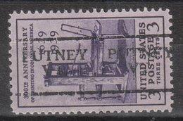 USA Precancel Vorausentwertung Preo, Locals Vermont, Putney 701 - Vereinigte Staaten