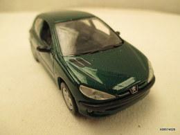 Voiture Miniature 1/43 Em   NOREV  PEUGEOT 206 Peinture D'origine  Verte  Tb Etat - Toy Memorabilia
