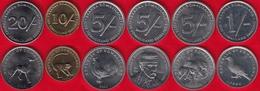 Somaliland Set Of 6 Coins: 1 - 20 Shillings 1994-2005 UNC - Monnaies