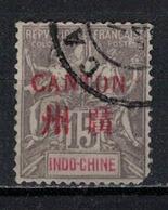 CANTON          N°  YVERT     8     ( 2°choix)   OBLITERE       ( O   1/49 ) - Oblitérés