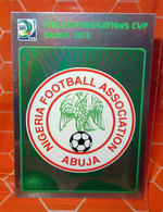 FIFA CONFEDERATIONS CUP BRAZIL 2013 PANINI N. 212 NIGERIA NEW NUOVA CON VELINA - Edizione Italiana