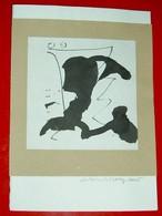 Encre De Chine Originale 15x15cm  De Antoine De Bary 2005 - Non Classés