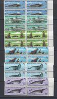 British Antarctic Territory (BAT) 1983 Antarctic Seal Conservation 6v Bl Of 4 ** Mnh (40560) - Brits Antarctisch Territorium  (BAT)