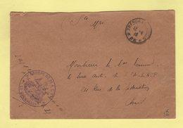 Tresor Et Postes 26 - 2e Groupe De 24 ALVF - 13-4-1916 - Postmark Collection (Covers)