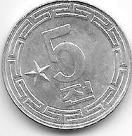 *Korea N  5 Chon 1974  Km 10  Unc - Korea, South