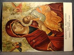(FG.K11) MADONNA BIZANTINA Venerata Nella BASILICA DI SANTA MARIA IN VADO, Santuario Sangue Prodigioso (FERRARA) - Paintings