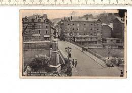 48226 - D4.65- La Roche En Ardenne Le Monument Aux Morts Et Rue Du Faubourg - La-Roche-en-Ardenne