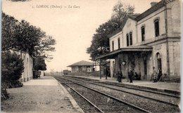 26 - LORIOL --  La Gare - France