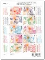 Nederland 2011, NVPH V2792-2801, Postfris MNH, 375 Years University Of Utrecht - 1980-... (Beatrix)