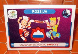 EURO 2012 POLAND-UKRAINE PANINI N. 32 ROSSIJA NEW NUOVA CON VELINA - Panini