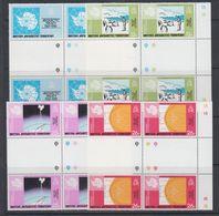 British Antarctic Territory (BAT) 1981 Antarctic Treaty 4v 2xgutter (+margin)  ** Mnh (40561A) - Ongebruikt