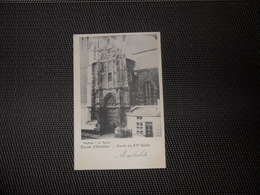 Enghien   :   Eglise - Porche Du XVe Siècle - Edingen