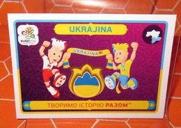 EURO 2012 POLAND-UKRAINE PANINI N. 42 UKRAJINA NEW NUOVA CON VELINA - Edizione Italiana