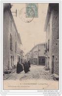 87) CHATEAUPONSAC - La Grand ' Rue  - (animée) - Chateauponsac