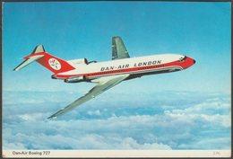 Dan-Air Boeing 727 - Charles Skilton Postcard - 1946-....: Modern Era