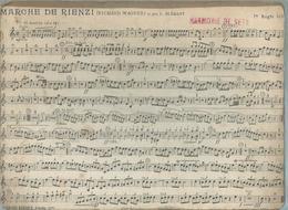 MARCHE DE RIENZI + LE BEAU DANUBE BLEU ( HARMONIE DE SETE - CETTE ) - Non Classés